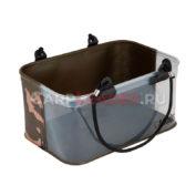 Ведро Fox Aquos Camo Rig Water Bucket с прозрачной стенкой