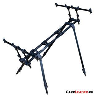 Род-под Carp Pro на 3-4 удилища телескоп. 4 ноги