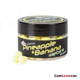 Бойлы нейтральной плавучести Dynamite Bait Fluro Wafter 14 мм. Pineapple & Banana