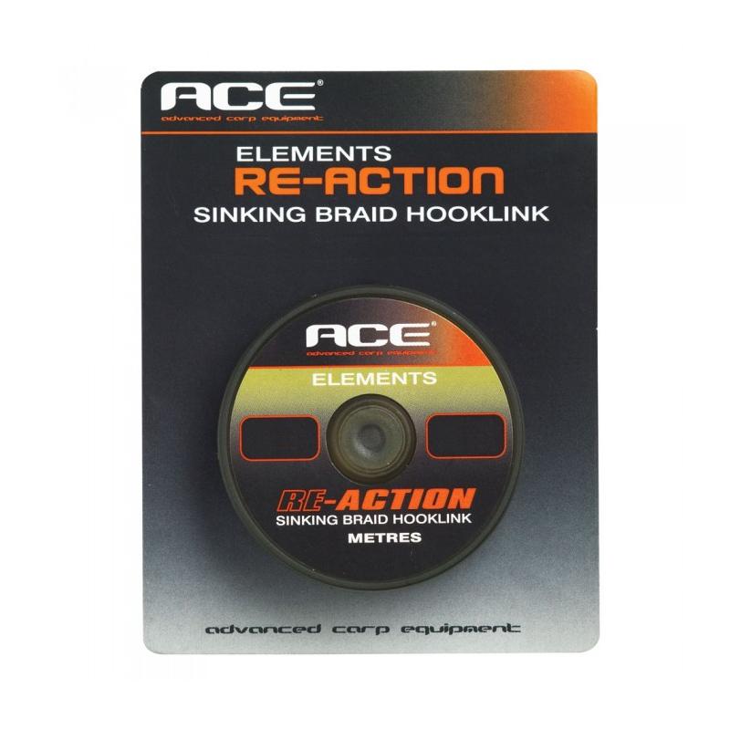 Поводковый материал ACE Re-Action — 25lb x 20м цв. Кор.