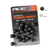 Бусинка ACE Rubber Beads 6mm зел.
