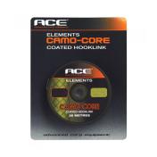Поводковый материал в оболочке ACE Camo Core — Gravel 15lb x 20m