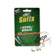 Плетеный шнур Sufix Feeder braid Gore Olive Green 100м 0.14мм