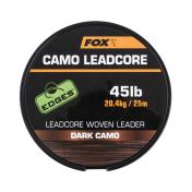 Противозакручиватель Fox Edges Camo Leadcore — Dark Camo 45lb — 25m