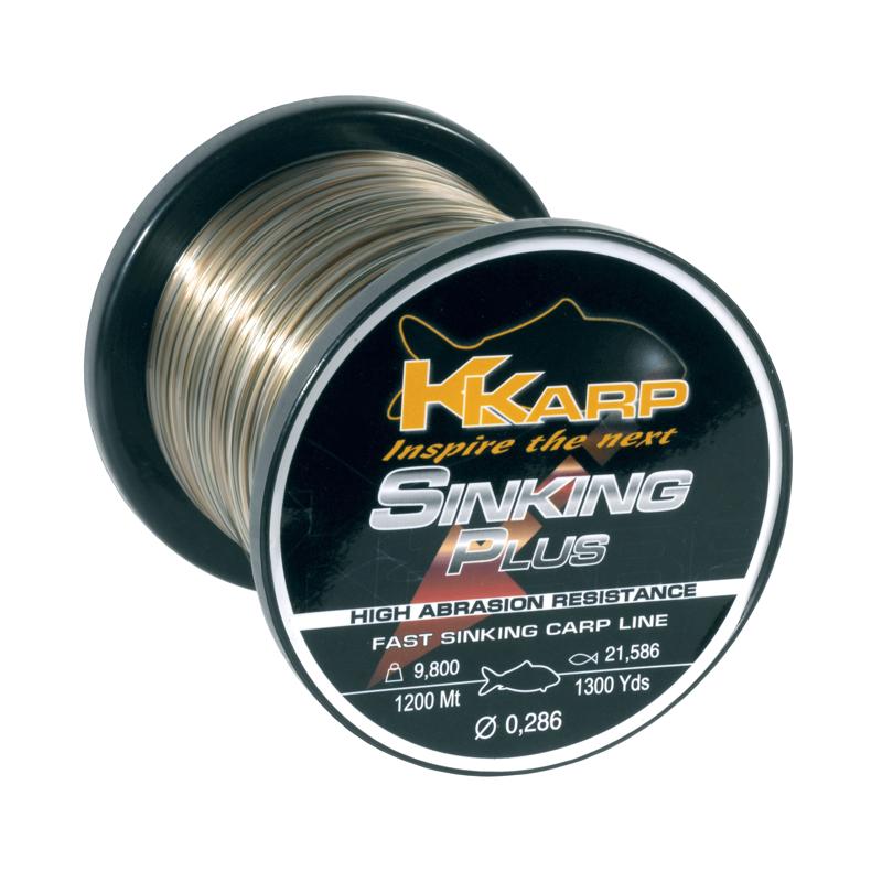 Леска K-Karp Sinking Plus 300m 0