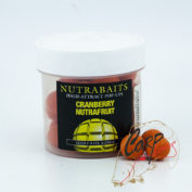 Бойлы плавающие Nutrabaits 15мм Cranberry Nutrafruit Pop Ups