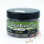Бойлы Fun Fishing Amour Blanc-Bouillettes-Herbe/Gazon-18 mm 300 g
