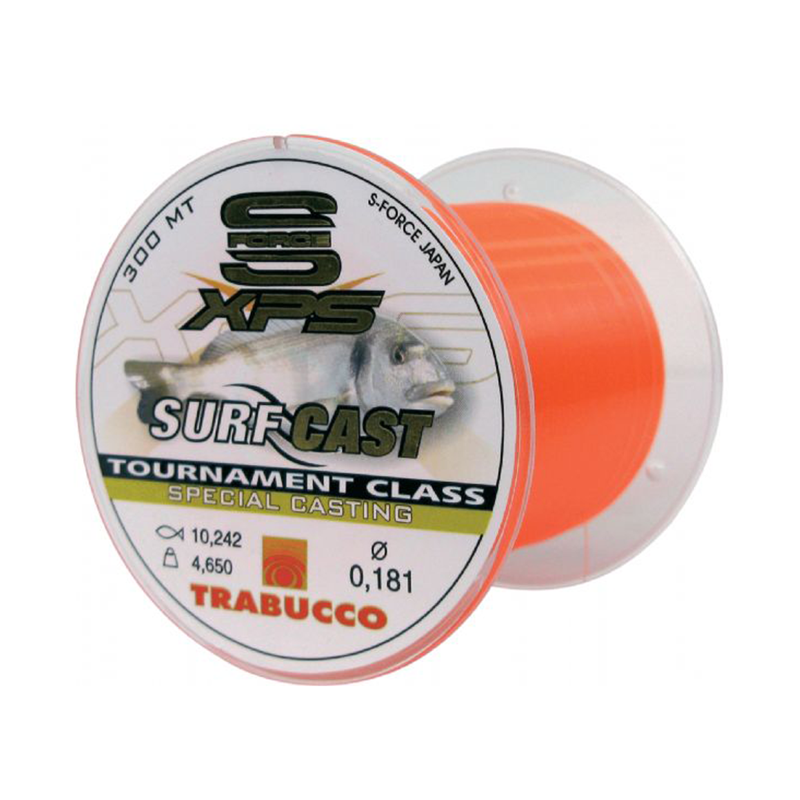 Леска Trabucco S-Force XPS Surf Casting 300m 0