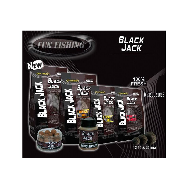 Прикормочная смесь Fun Fishing Method Mix 2.5 kg Black Jack