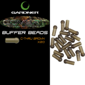 Бусина Gardner Buffer Beads C- Thru Brown
