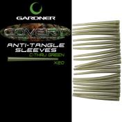 Отводчик силиконовый Gardner Covert Anti-Tangle Sleeves Green