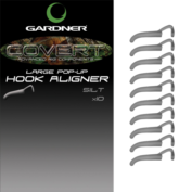 Удлинитель крючка Gardner Covert Pop-Up Hook Aligner L 2 to 6 hooks C-Thru BlackSilt