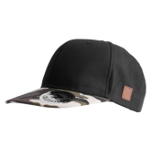 Кепка Avid Carp — Snap Back Cap — Black/Camo Peak