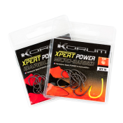 Крючки карповые Korum №10 Xpert Power Micro Barbed Hooks