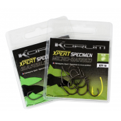 Крючки карповые Korum №6 Xpert Specimen Barbless Hooks