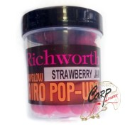 Бойлы плавающие Richworth Airo Pop-Up 14 mm Strawberry Jam