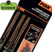 Набор готовых ледкоров Fox Edges Leadcore Leaders Light