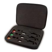 Набор механических сигнализаторов поклевки в кейсе Fox Euro MK2 Present Set 3 Rod