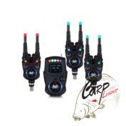 Набор электронных сигнализаторов поклевки с пейджером Hoxwell New Direction - K9/R9 3+1
