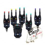 Набор электронных сигнализаторов поклевки с пейджером Hoxwell New Direction - K9/R9 5+1