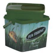 Ведро с доп. контейнером Fun Fishing Seau 10L sans bassine