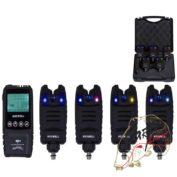 Набор электронных сигнализаторов поклевки с пейджером Hoxwell HL72М 4+1