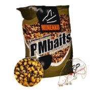 Прикормка зерновая Minenko PMbaits Big Pack Ready To Use Mix №1 Garlic кукуруза