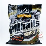 Бойлы Minenko PMbaits Big Pack Boiles Soluble Squid&Octopus 20mm 1 кг.