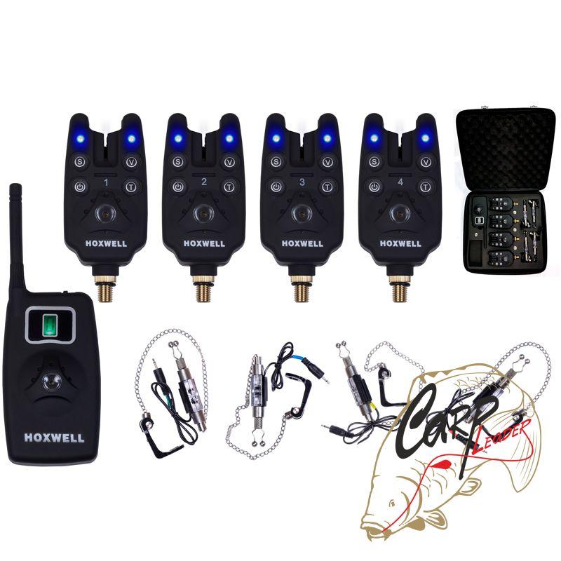набор электронных сигнализаторов поклевки с пейджером