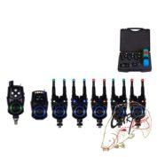Набор электронных сигнализаторов поклевки с пейджером Hoxwell New Direction — K9/R9 5+1