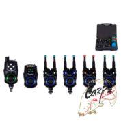 Набор электронных сигнализаторов поклевки с пейджером Hoxwell New Direction — K9/R9 4+1