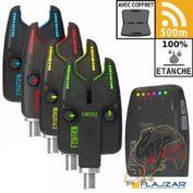 Сигнализаторы поклёвки с пейджером Flajzar Neon 3+1