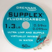 Флюорокарбон Drennan Supplex F'carbon 1.3lb 0.095mm