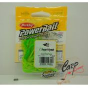 Приманка Berkley нимфа PowerBait power Nymph 5sm Green Chartreuse 12