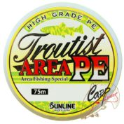 Шнур Sunline Troutist Area PE 75m 0.4/8Lb yellow