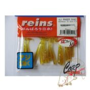 Силиконовая приманка Reins Aji Ringer Shad 1.5 Цв. 430-Motor Oil Gold FLK