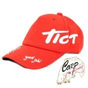 Кепка Tict красная