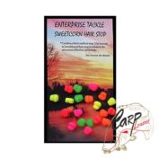 Стопора Enterprise Tackle Sweetcorn Hairstops- Mini Mixed Pack of Fluoro