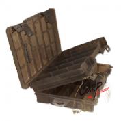 Коробка Kosadaka TB1205 275x190x70мм для приманок регулируемая двухсторонняя