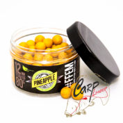 Бойлы FFEM Super Soluble Boilies Pineapple 12 mm для flat feeder
