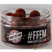 Бойлы FFEM Super Soluble Boilies Monster Crab 12 mm