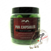 Капсулы PVA Fishing Tackle 10 PVA Capsules Natural Salty Green