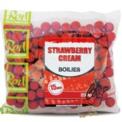 Бойлы Rod Hutchinson Boilies Strawberry Cream 15mm 250 гр