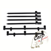 Стойки с буззбарами PROLogic Black Fire Buzz & Sticks 3 Rods Kit