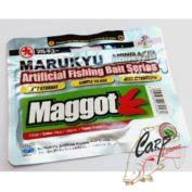 Силиконовые приманки Marukyu Maggot Red