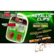 Набор безопасных клипс Fun Fishing Pack Metallic Clip Weed х8шт. с мет. дужкой