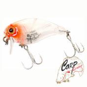 Воблер Jackall Chubby 38 SSR clear salmon roe head