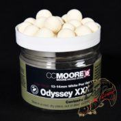 Бойлы плавающие CCMoore Odyssey XXX White Pop Ups 13/14mm
