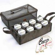Сумка для рыболовной насадки Avid Carp Hookbait Bag 8 секций 35 x 20 x 10 см
