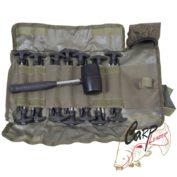 Набор колышков с молотком Avid Carp Supertough Bivvy Peg & Mallet Set